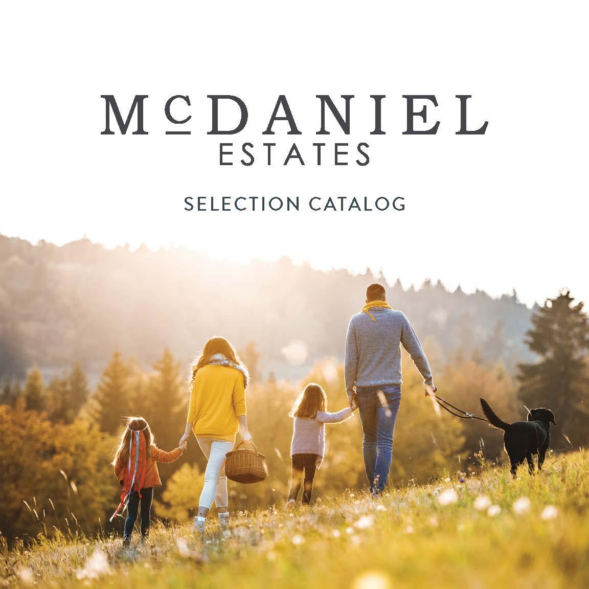 mcdaniel estates selection catalog