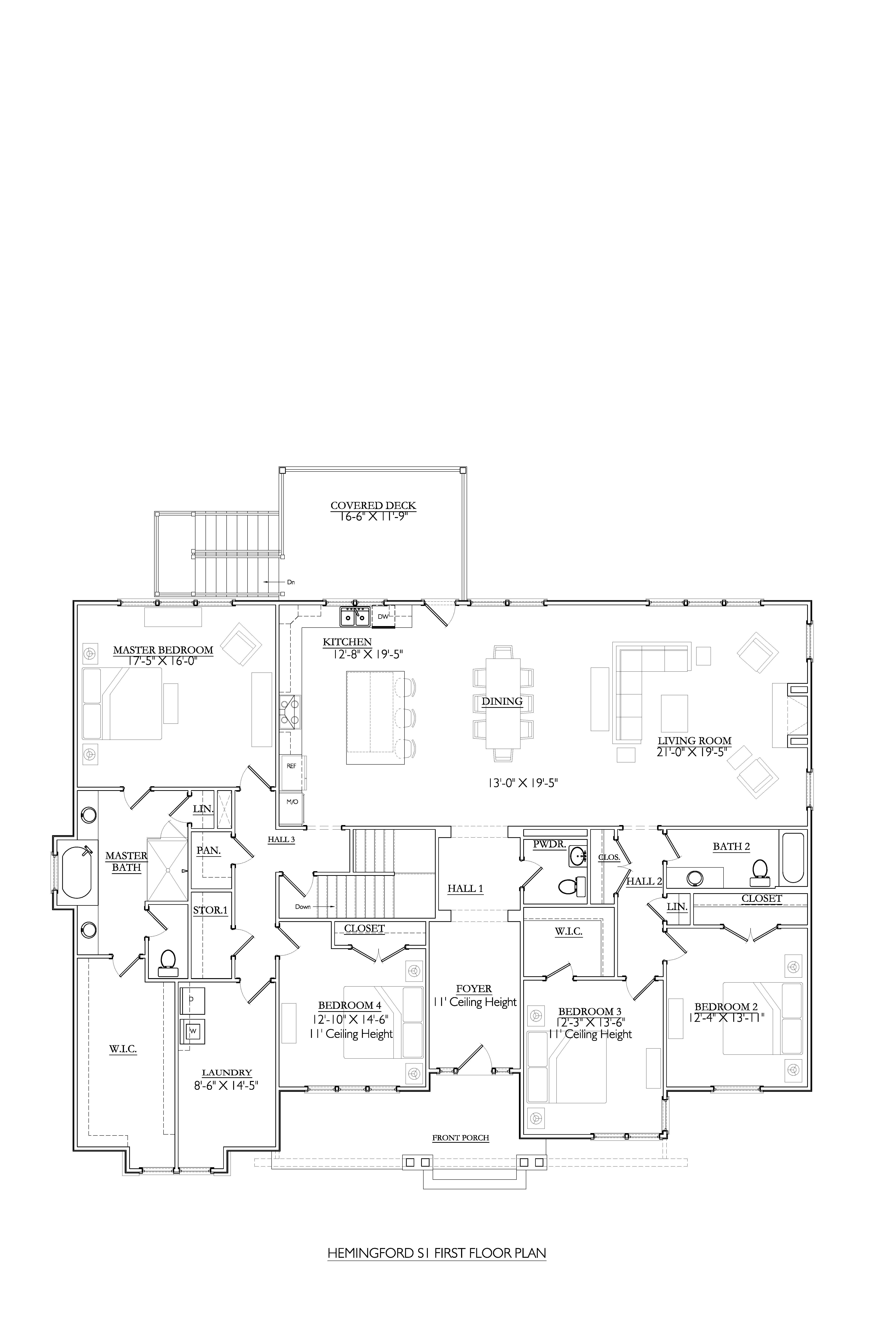 Hemingford S1 Basement- Homesite 29Main Level