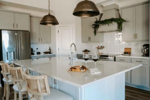 kitchen decor ideas for entertaining