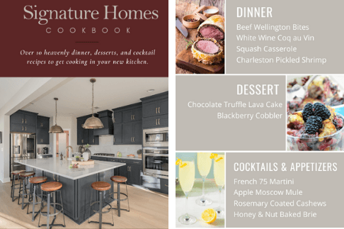 signature homes cookbook