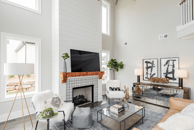 vaulted elevated ceilings new homes for sale birmingham